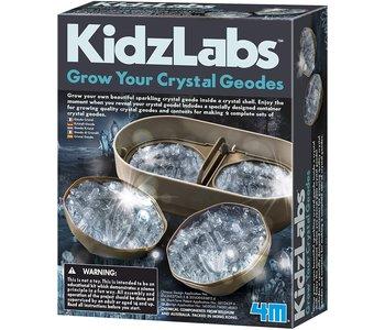 4M Kidzlab Crystal Geode Growing Kit