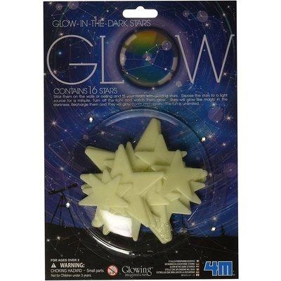 4M 4M Glow Adhesive Stars