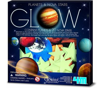 4M Glow Adhesive Super Nova & Planets