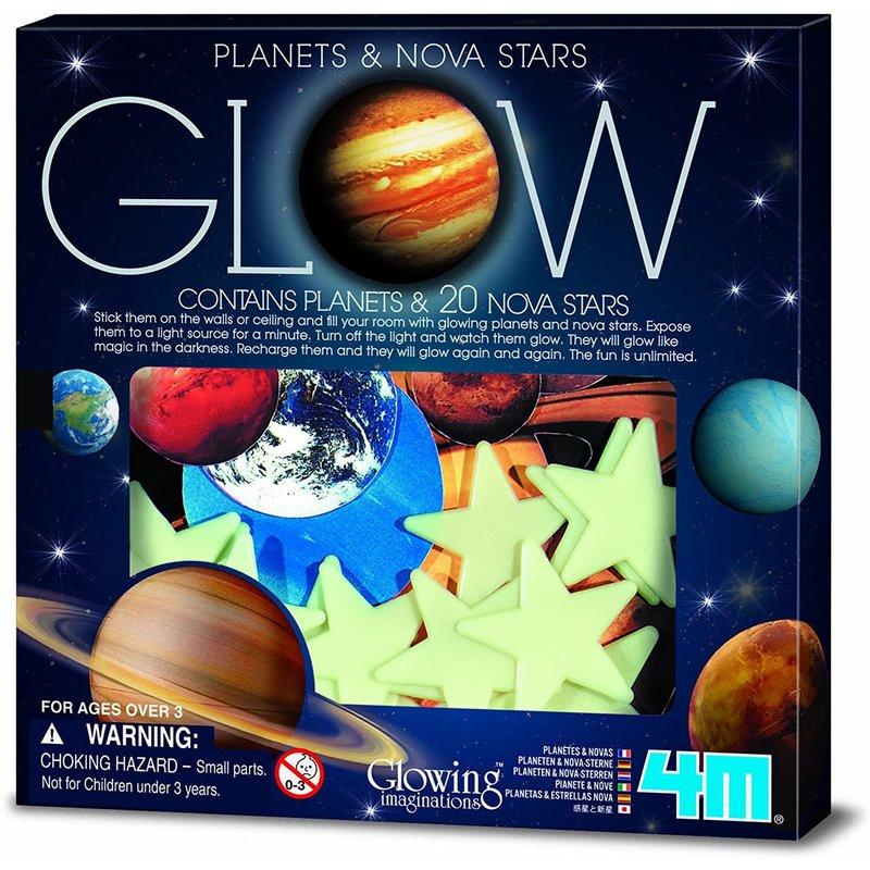 4M 4M Glow Adhesive Super Nova & Planets