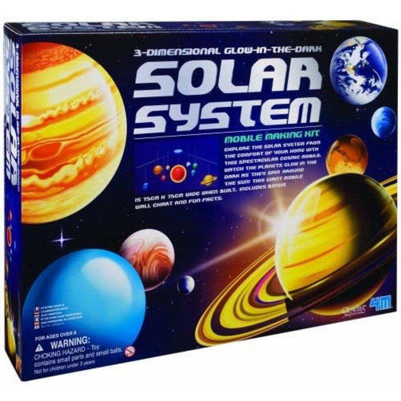 4M 4M 3D Solar System Mobile Kit