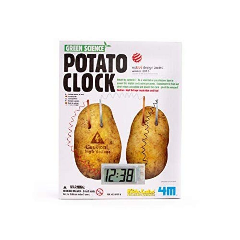 4M Science Potato Clock