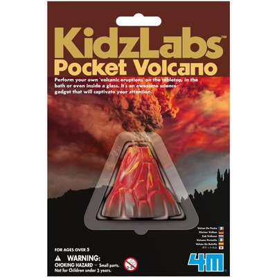4M 4M Pocket Volcano Making Kit