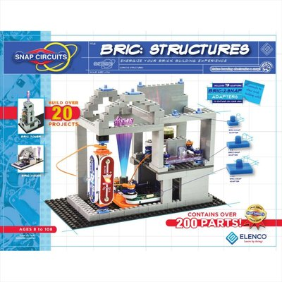 Elenco Snap Circuits Elenco Snap Circuit Bric Structures