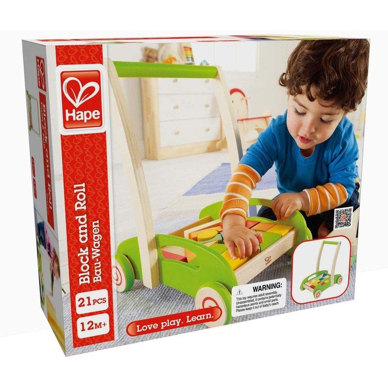 Hape Toys Hape Block & Roll