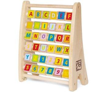Hape Abacus Alphabet