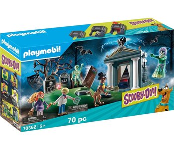 Playmobil Scooby Doo Adventure in the Semetary