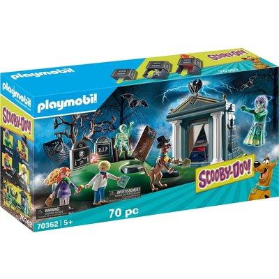 Playmobil Playmobil Scooby Doo Adventure in the Semetary