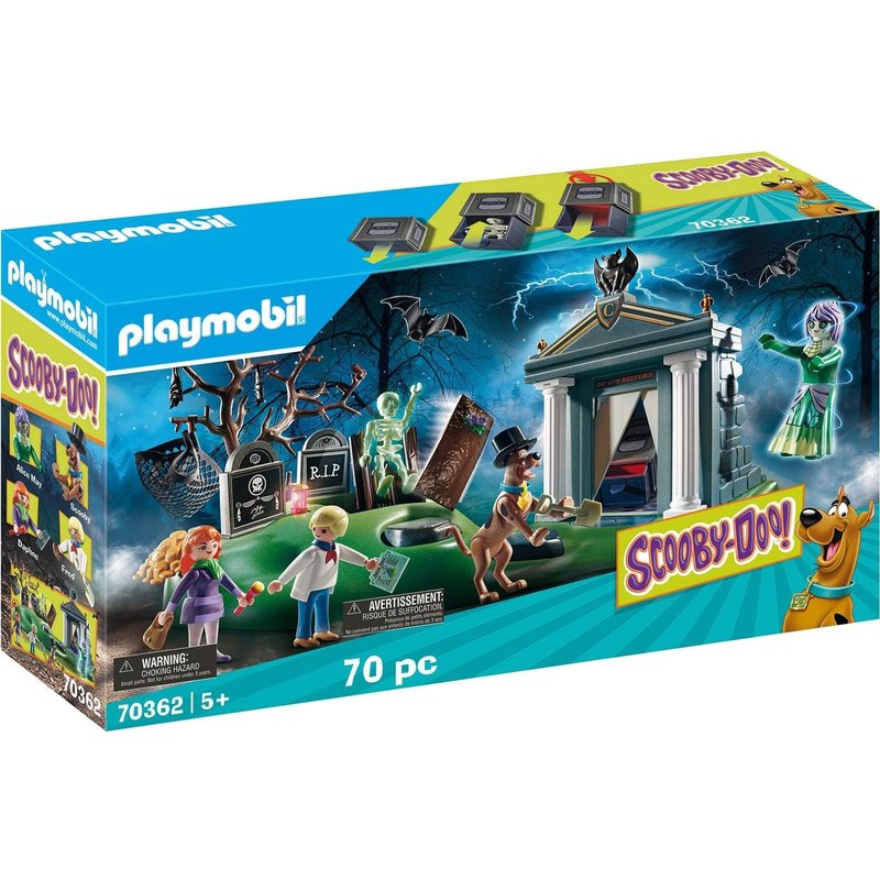 Playmobil Playmobil Scooby Doo Adventure in the Semetary