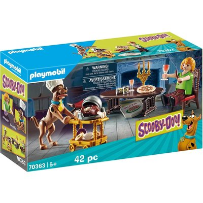 Playmobil Playmobil Scooby Doo Dinner with Shaggy