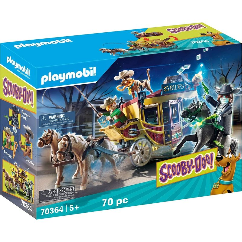 Playmobil Playmobil Scooby Doo Adventure in the West