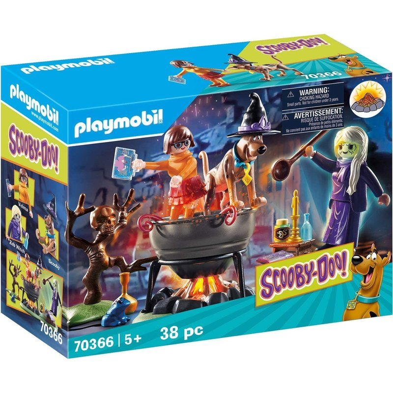 Playmobil Playmobil Scooby Doo Adventure in the Witch's Cauldron