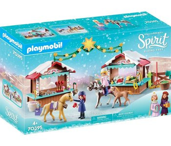 Playmobil Spirit Christmas Miradero Market