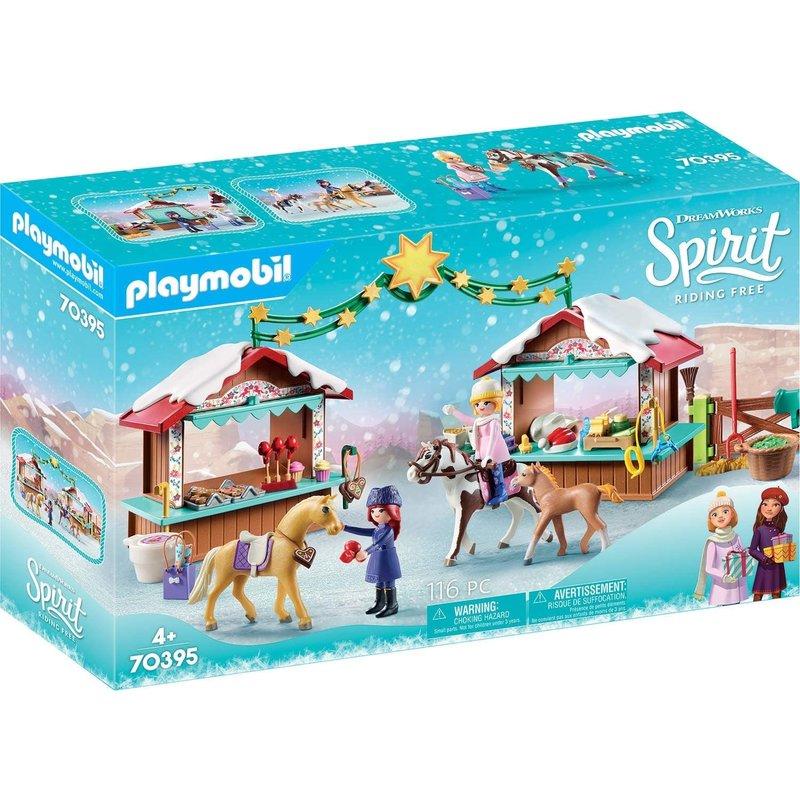 Playmobil Playmobil Spirit Christmas Miradero Market