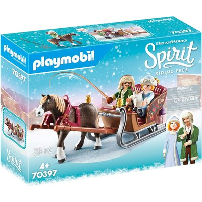 Playmobil Playmobil Spirit Winter Sleigh Ride