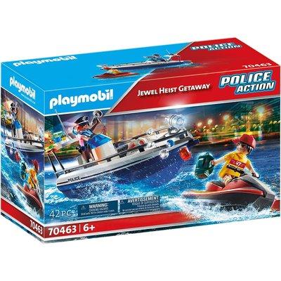 Playmobil Playmobil Action Police Jewel Heist Getaway