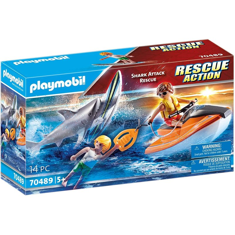 Playmobil Playmobil Action Rescue Shark Attack