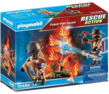 Playmobil Action Rescue Forest Fire Squad