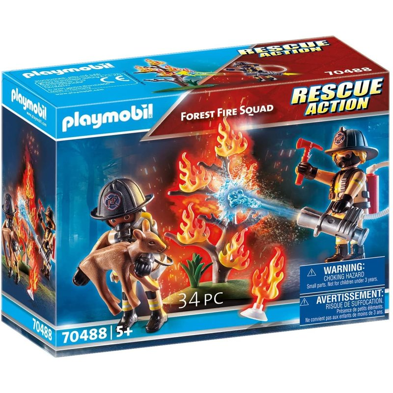 Playmobil Playmobil Action Rescue Forest Fire Squad