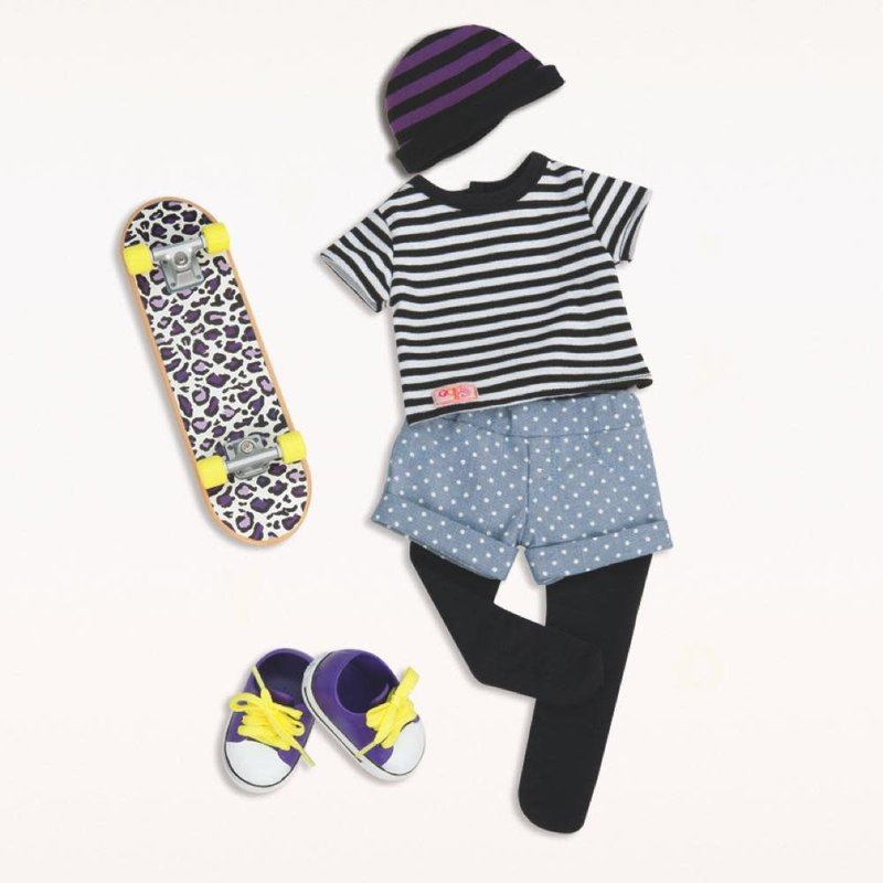 Our Generation Our Generation Doll Outfit: That's How I Roll Skater