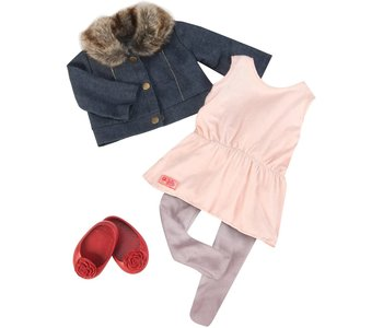 Our Generation Doll Outfit: Just Fur You