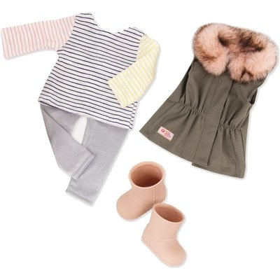 Our Generation Our Generation Doll Outfit: Fun Fur Fall