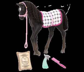 Our Generation Foal Black Velvet Foal