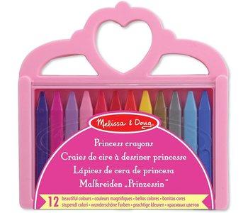 Melissa & Doug Arts & Crafts Princess Crayon Set