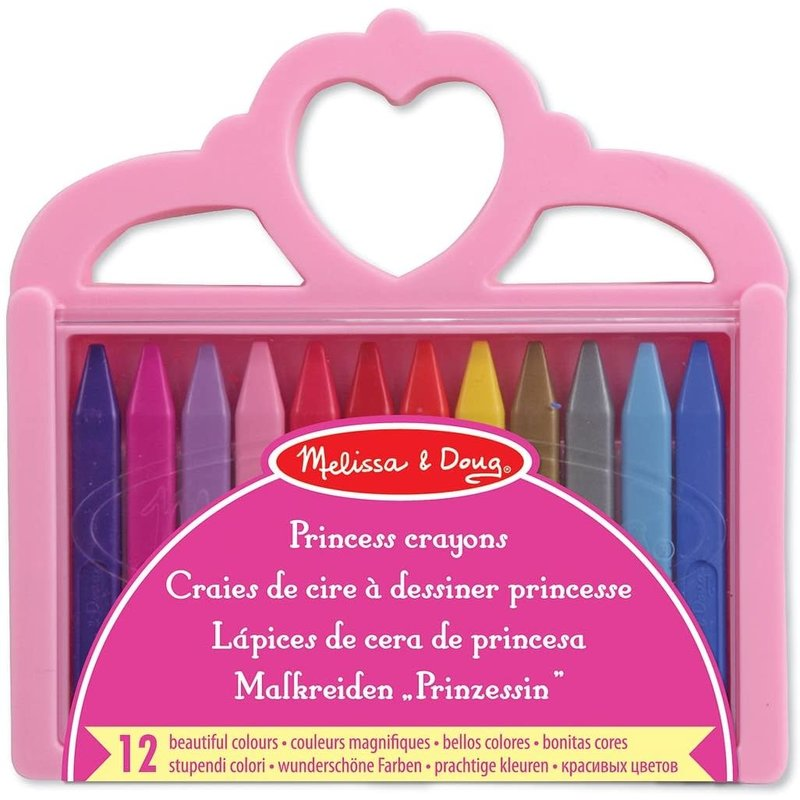 Melissa & Doug Melissa & Doug Arts & Crafts Princess Crayon Set