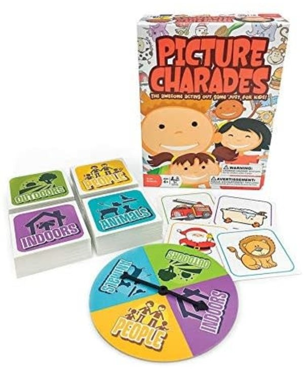 Outset Game Picture Charades