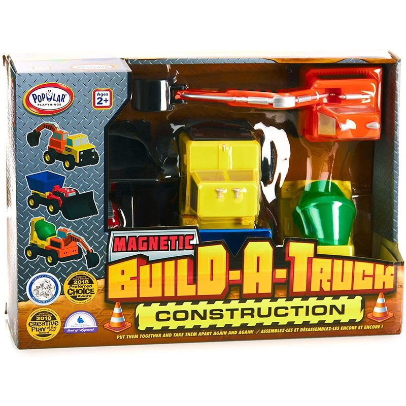 Popular Magnetic Build-a-Truck