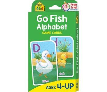 School Zone Flash Cards Go Fish Alphabet