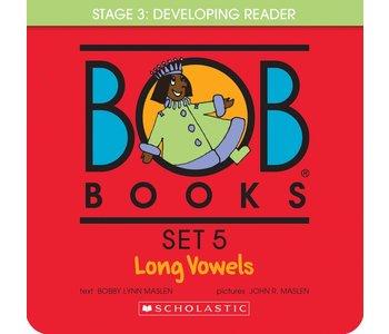 Scholastic Book Bob Set #5 Long Vowels
