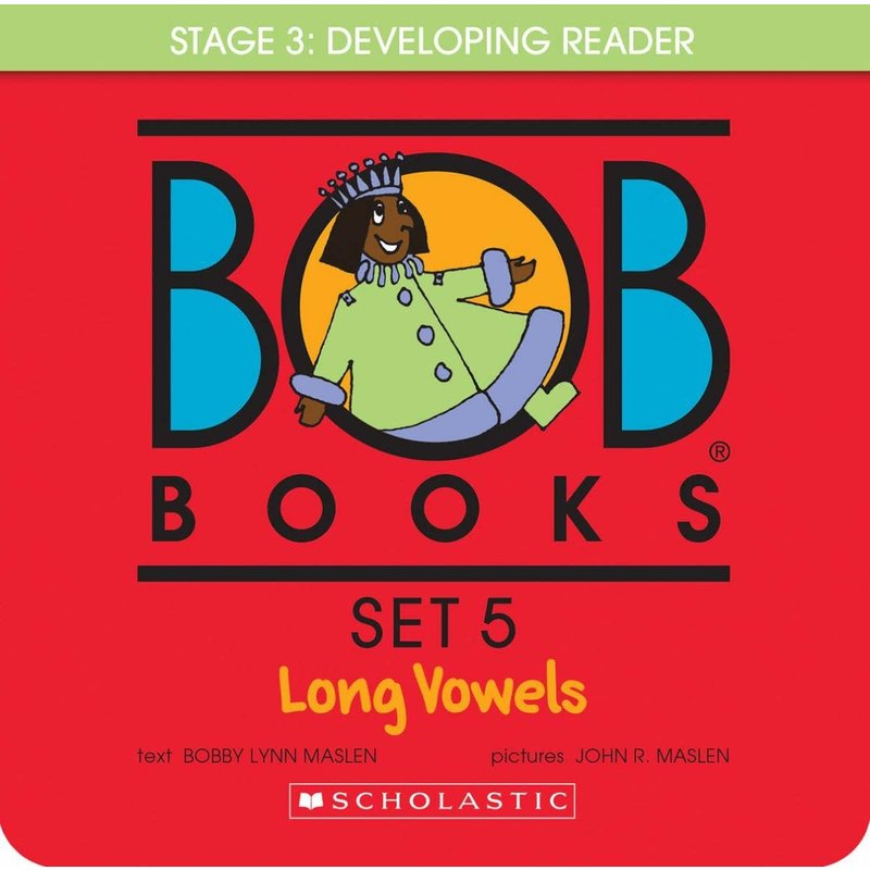 Scholastic Book Bob Set #5 Long Vowels