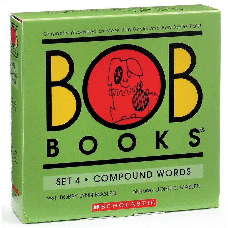 Scholastic Book Bob Set #4 Complex Words