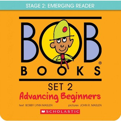 Scholastic Book Bob Books Set 2- Advancing Beginners: Box Set