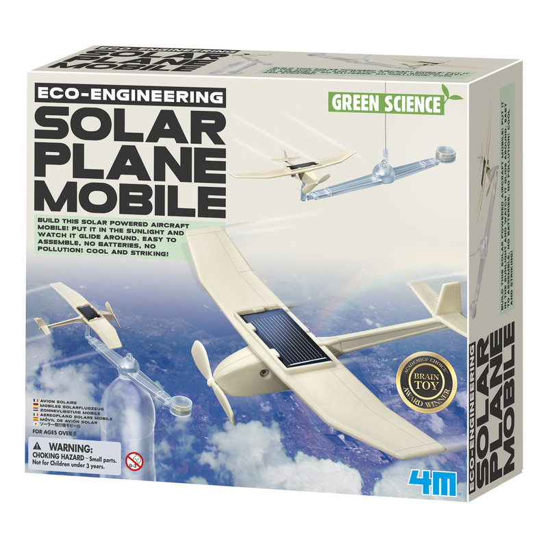 4M Science Kit Solar Plane