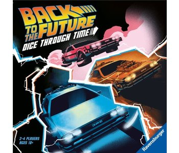 Back to the Future Game Dice Through Time