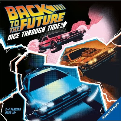 Ravensburger Back to the Future Game Dice Through Time