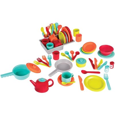 Battat Deluxe Kitchen Play Set 71pcs