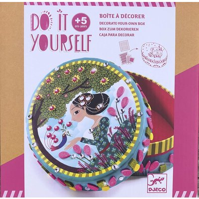Djeco Craft DIY Little Secrets Box