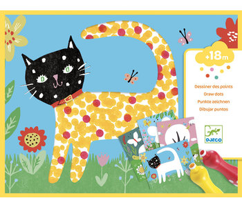 Djeco Craft Small Dots Painting