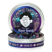 Crazy Aaron Crazy Aaron's Thinking Putty Illusions Super Scarab