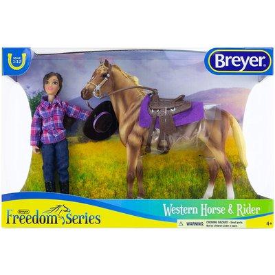 Breyer Freedom Series Western Horse & Rider