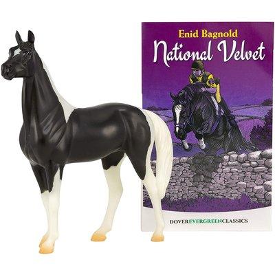 Breyer Breyer Book and Horse Set National Velvet