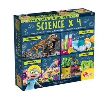 I'm a Genius Science x 4 Kit