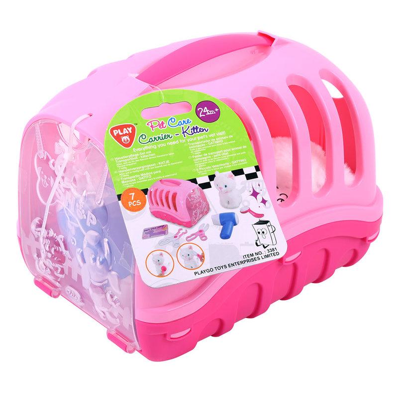 Playgo Pet Care Carrier Kitten