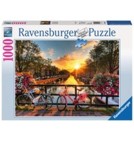 Ravensburger Ravensburger Puzzle 1000pc Bicycles in Amsterdam