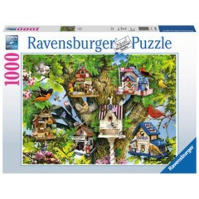 Ravensburger Ravensburger Puzzle 1000pc Bird Village