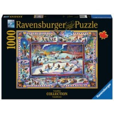 Ravensburger Ravensburger Puzzle 1000pc Canadian Winter